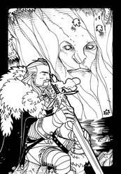 A Game of Thrones - Eddard Stark by NicolasRGiacondino