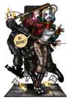 MiniCharacters - Harley Quinn