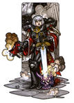 MiniCharacters - Sister Of Battle by NicolasRGiacondino