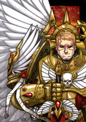 Angel of Blood by NicolasRGiacondino