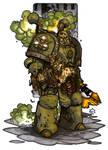 MiniCharacters - Plague Marine