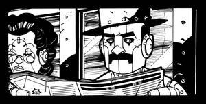 INKTOBER - #3 The Passenger