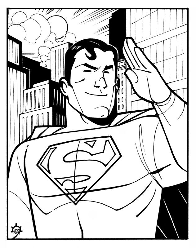 Superman by NicolasRGiacondino