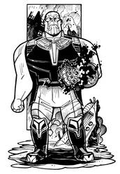 Infinity War - Thanos by NicolasRGiacondino