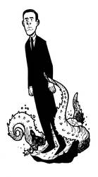 H.P. Lovecraft by NicolasRGiacondino