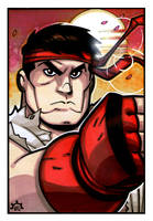 Street Fighter - Ryu by NicolasRGiacondino