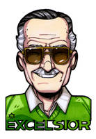Stan 'The Man' Lee by NicolasRGiacondino