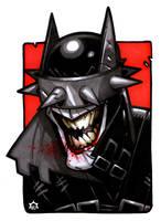 The Batman Who Laughs by NicolasRGiacondino