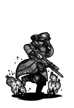 Mini40K - Death Korps of Krieg