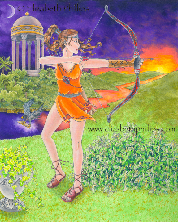 The Sacred Grove of Artemis by ElizabethPhillips