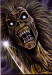 Aceo Iron Maiden Card 1
