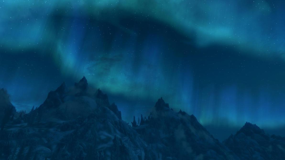 Kyne's Lights by EthanRedOtter