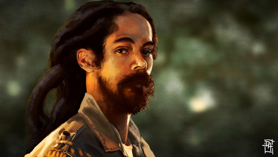 Damian Marley by Domax-art