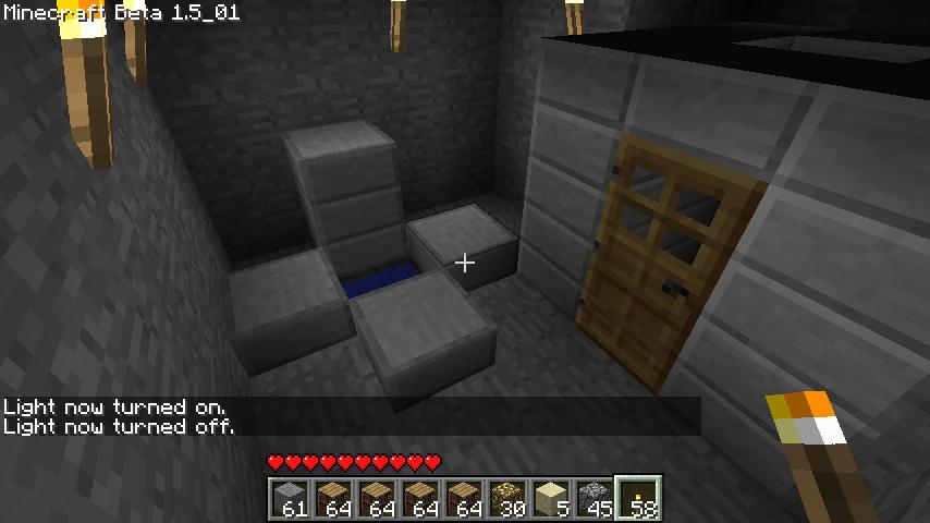 Minecraft bathroom by gigsauce on deviantart for Bathroom ideas minecraft