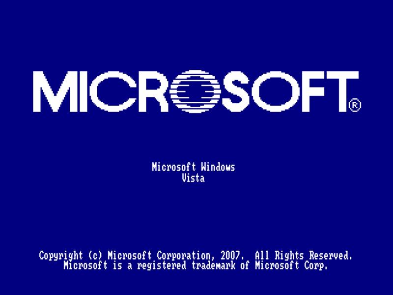 Windows Vista 10 Boot Logo By GLesTheArtist