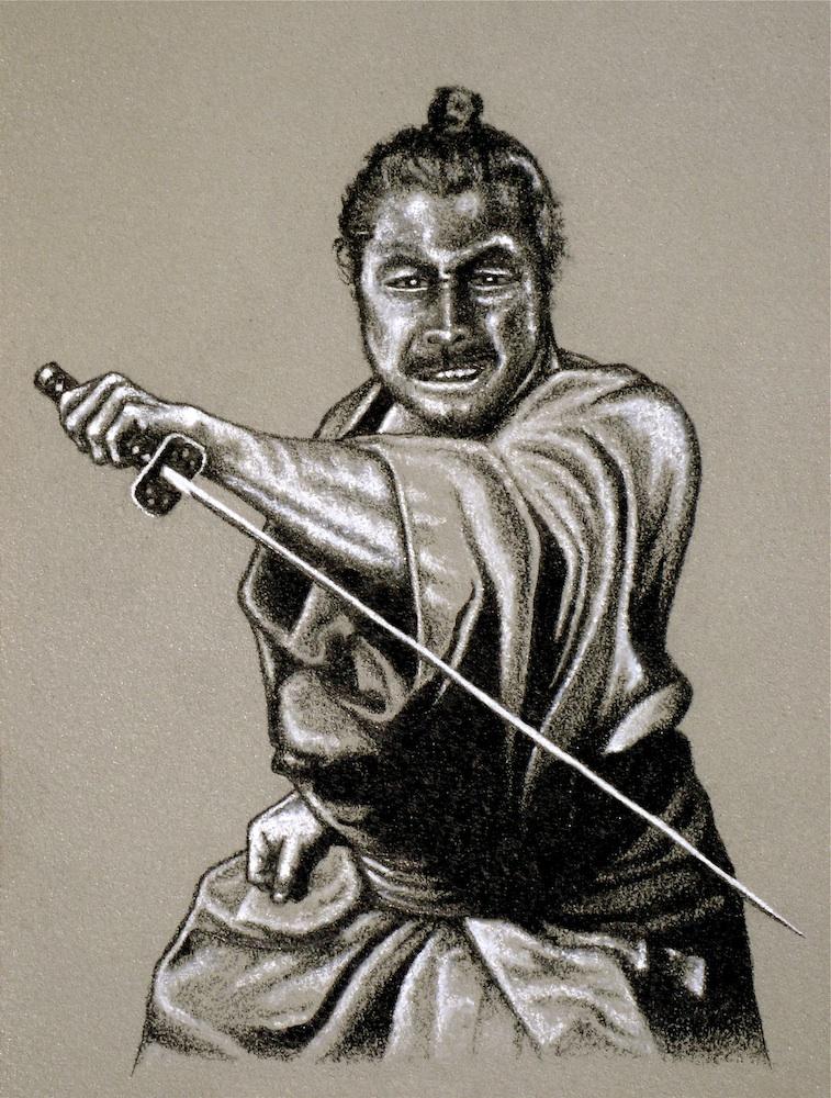 Samurai ! by Carles