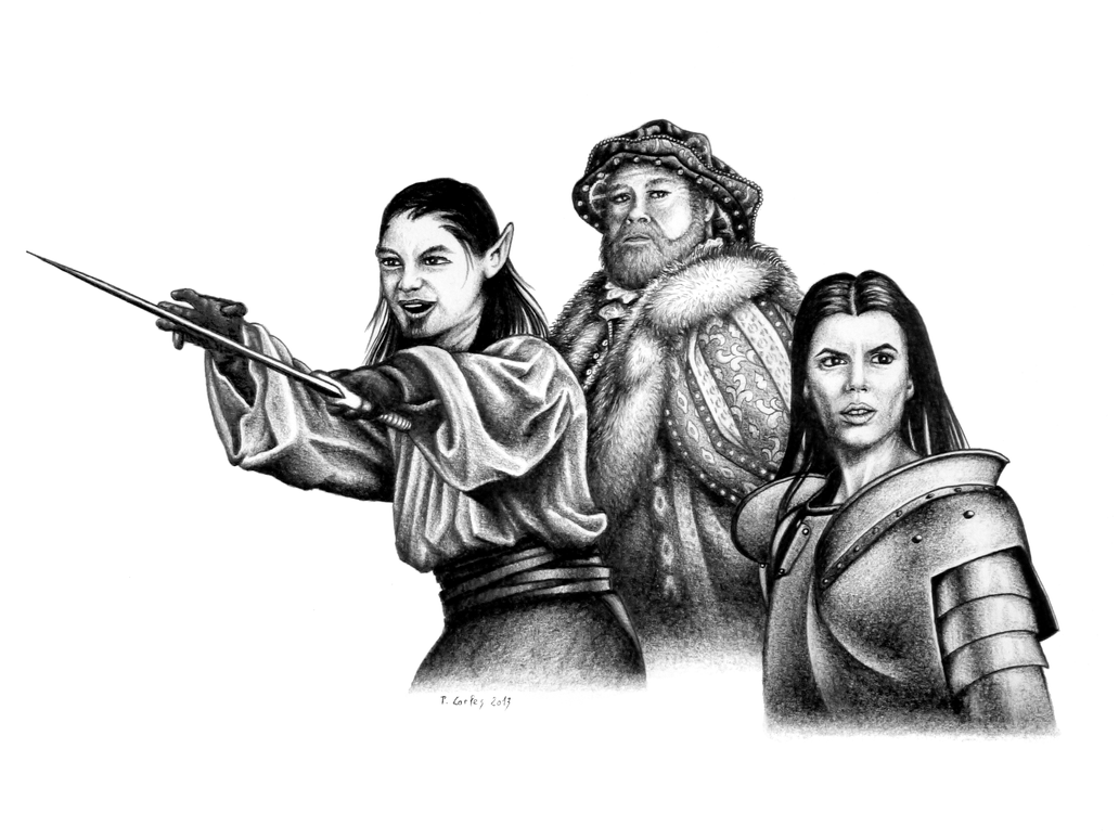 Hero, King and Champion by Carles