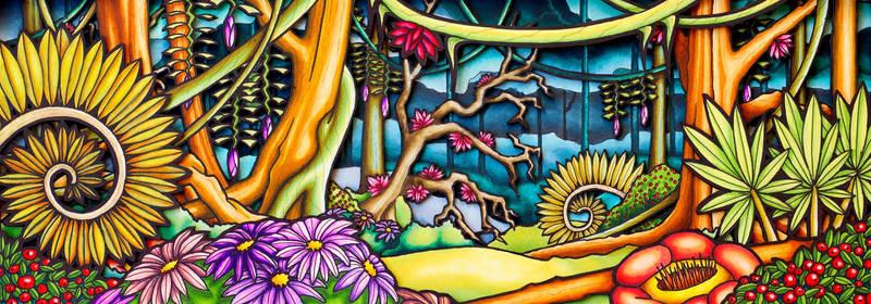 Jungle Background for Animation Short