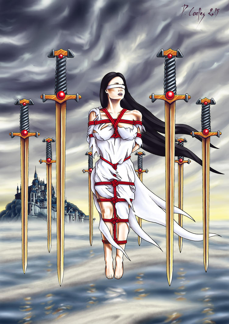 Eight of Swords by Carles