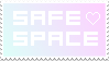 Safe Space Stamp by folieaduux