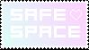 Safe Space Stamp (check description) by folieaduux