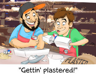 Gettin' Plastered by codygarciaart