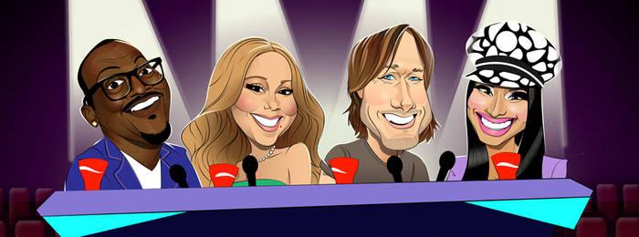 American Idol for Hark by codygarciaart