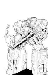 War Within Optimus Prime by glovestudios