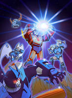G1 DVD Cover Seasons 3 and 4 by glovestudios