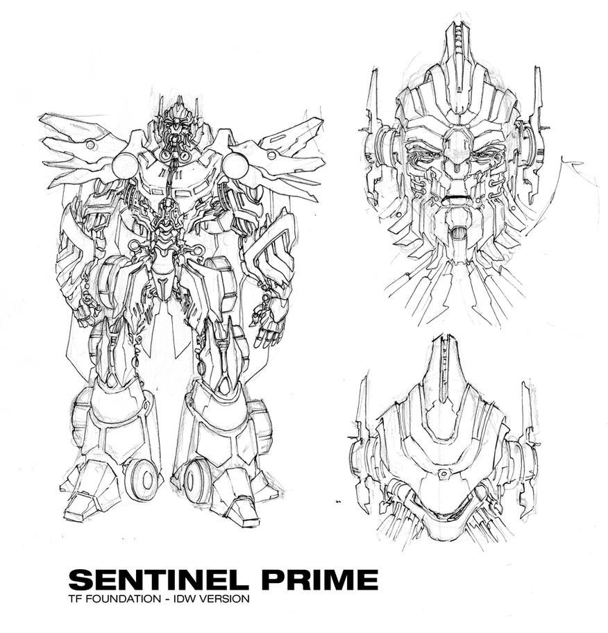 Sentinel Prime Design by glovestudios