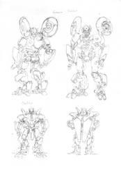 TF: Foundation Sketches by glovestudios