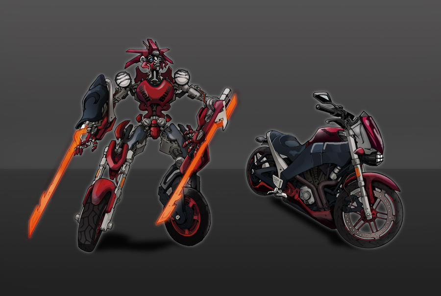 Motorcycle TF Design by glovestudios