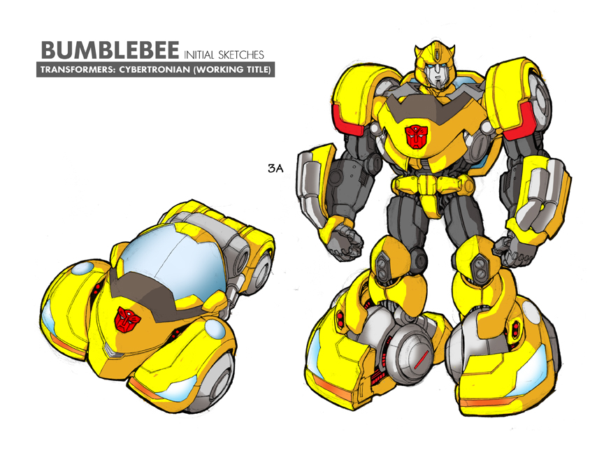 Unused Bumblebee RID Design by glovestudios