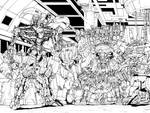 Transformers RID 13 Pgs 20 and 21