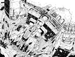TF Dark Cybertron #1 Pgs 18 to 19