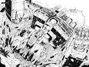 TF Dark Cybertron #1 Pgs 18 to 19