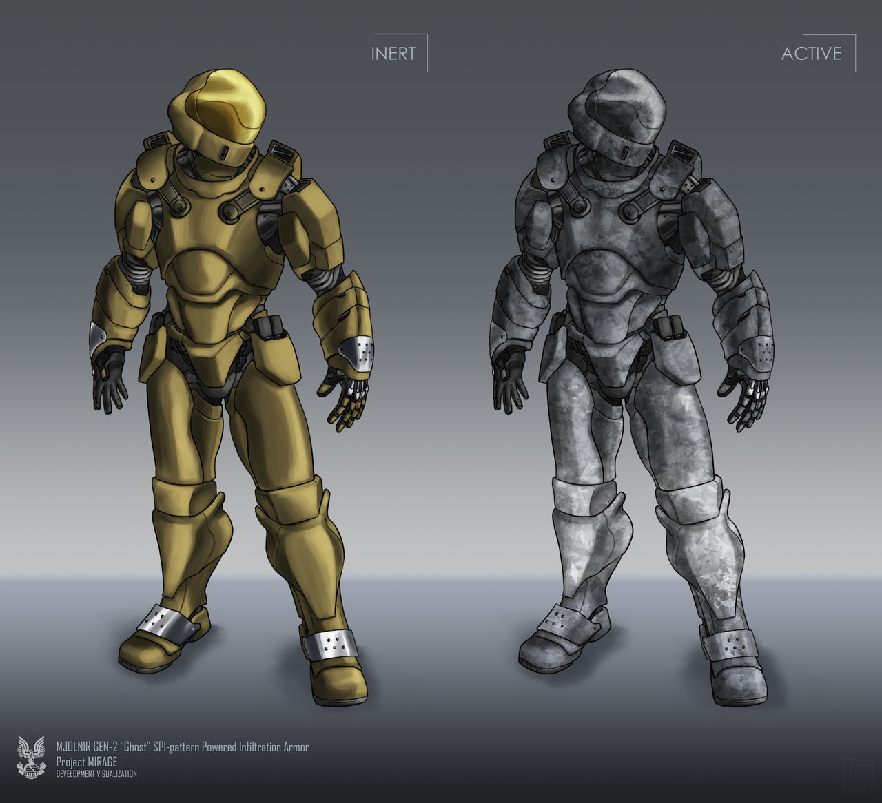 Ghost Powered Infiltration Armor By The Chronothaur On Deviantart