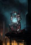 Commission: ONI Agent 'Pentagon' by The-Chronothaur