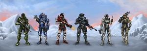 Commission: Fireteam Talon