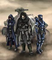 Sandstorm (Commission) by The-Chronothaur