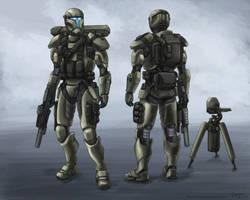 Spartan Commando (Commission)