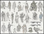 UNSC sketchdump 7