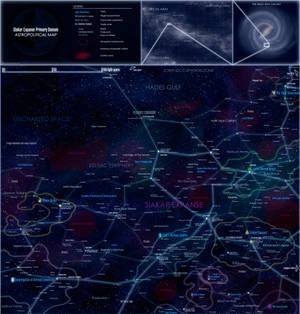 Siakar Expanse astropolitical map