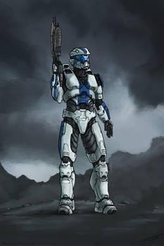 Spartan Walker (Commission)
