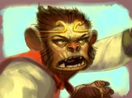 Monkey King by cbiv85