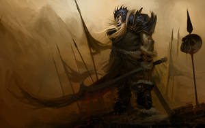 Orc Warrior by cbiv85