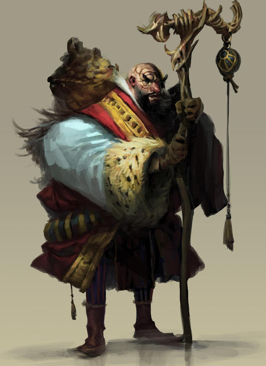 Monk Merchant by cbiv85