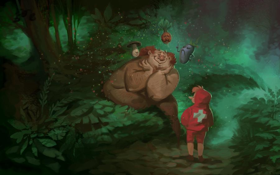 Forest Spirits by cbiv85