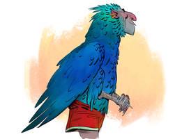 Birdlady by cbiv85