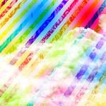 Textura colores y nubes